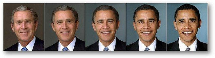 from Bush o Obama