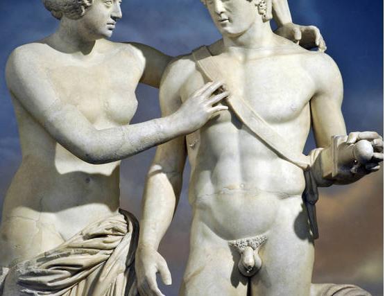 Venere e Marte, Faustina e Marco Aurelio, dopo il trattamento