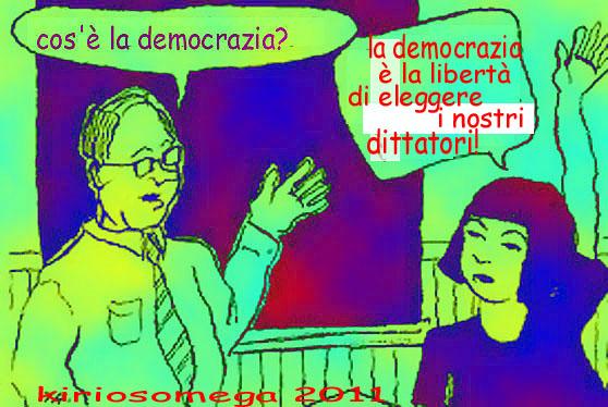 democrazia libertà di eleggere i propri tiranni