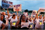 minnesota: Luglio 2011 proteste della popolazione