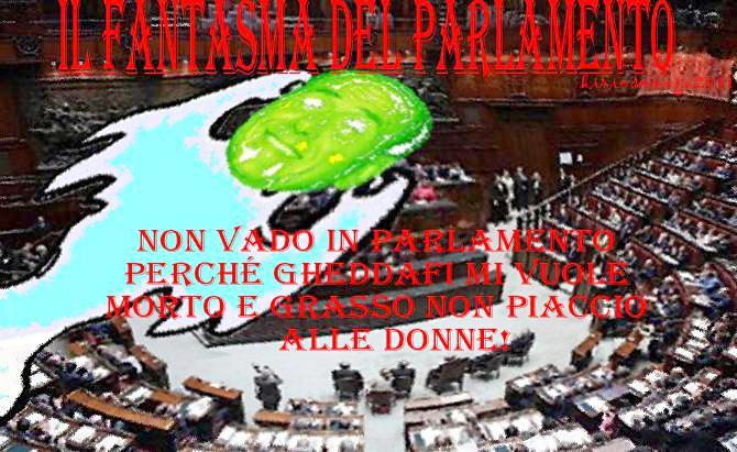 il fantasma del parlamento