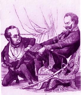 Cavour e Vittorio Emanuele