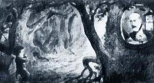 Mazzini, il bosco, il bambino