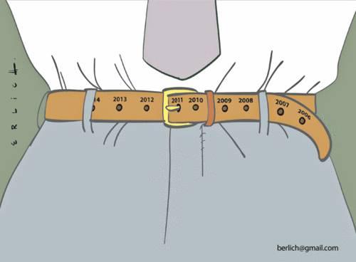 cintura: nuova moda europea