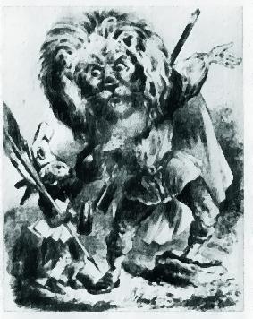 il leone Garibaldi