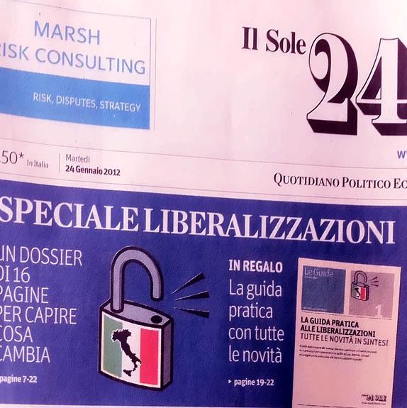 Mamma... mi hanno rubato la Sardegna!  Il Sole 24Ore dimentica che esiste un altro grosso pezzo d'Italia.