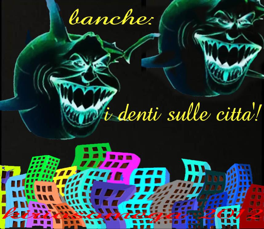 banche: denti sulle città