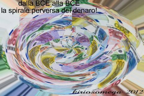 La spirale perversa del denaro - dalla BCE alla BCE
