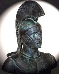 O Spartiatis, Leonida, (bronzo alle termopili- particolare)