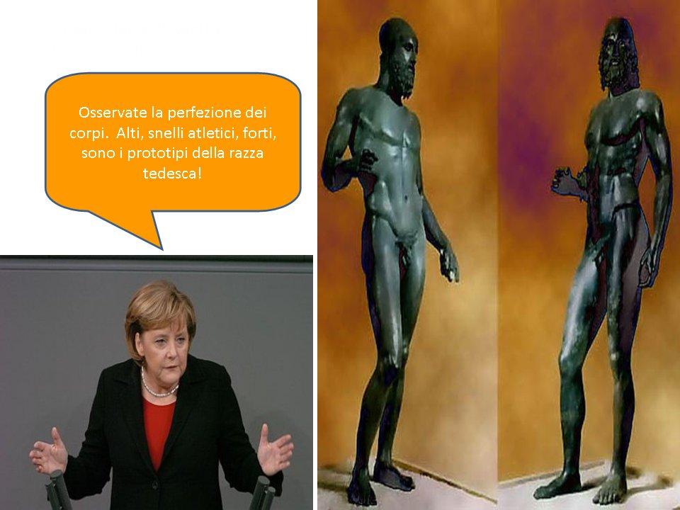 frau Merkel... è razza tetesca di Germania!