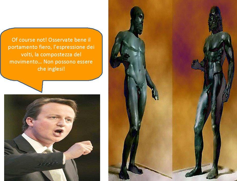 david cameron sostiene che è razza anglosassone