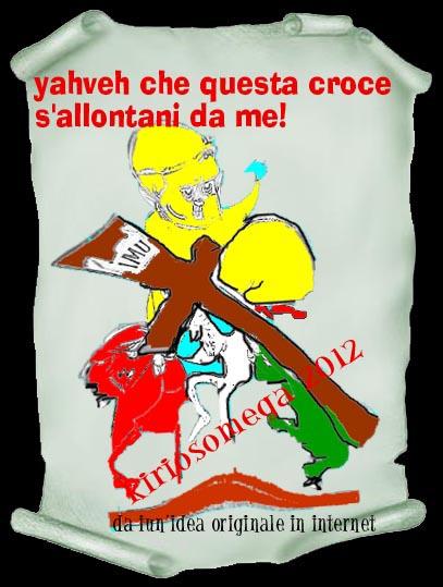 sacra bottega, papa, governo smemorato, IMU!