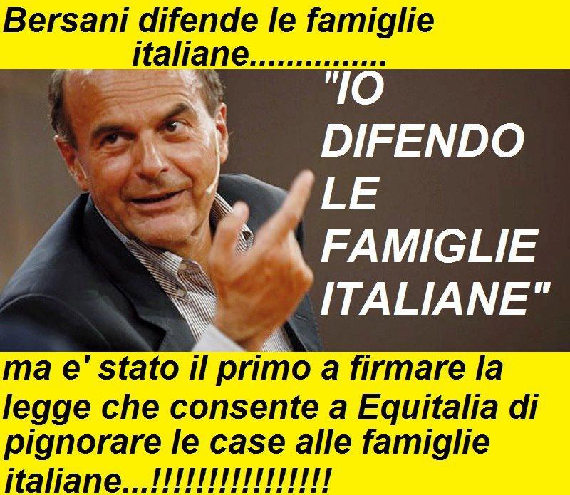 Pierluigi Bersani da Bettola...  forse perciò le balle politiche