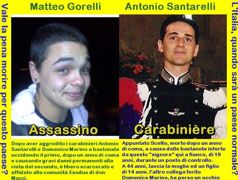 carabiniere e assassino - ma che Paese è mai questo?