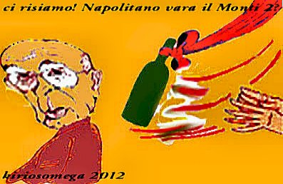 Napolitano varo Monti 2