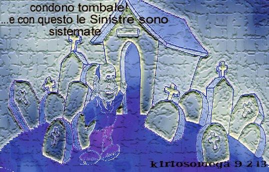 Berlusconi - condono tombale