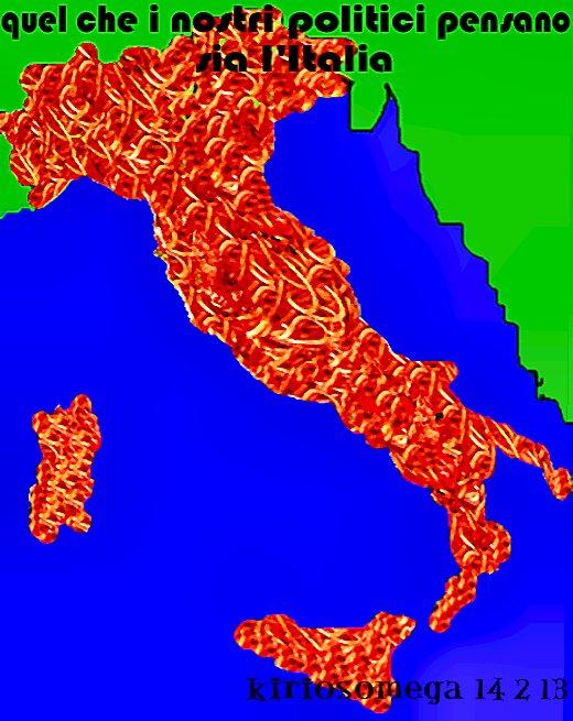 come i politici vedono l'Italia- 1-