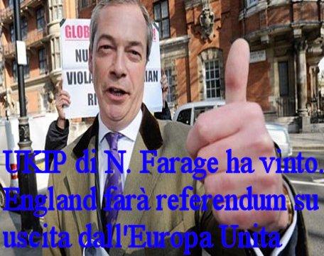 Referendum in Inghilterra sull'uscita dall'Europa Unita!