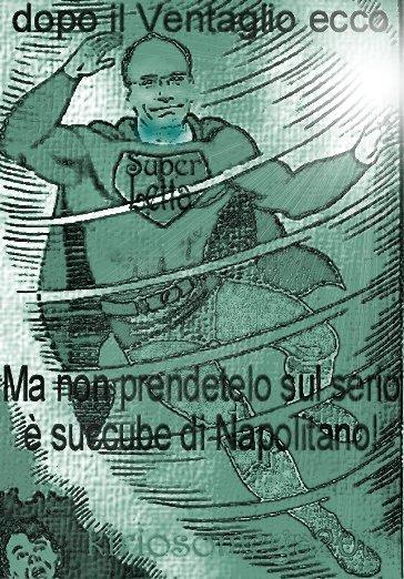 Ecco il super Letta, Napolitano lo vuole!