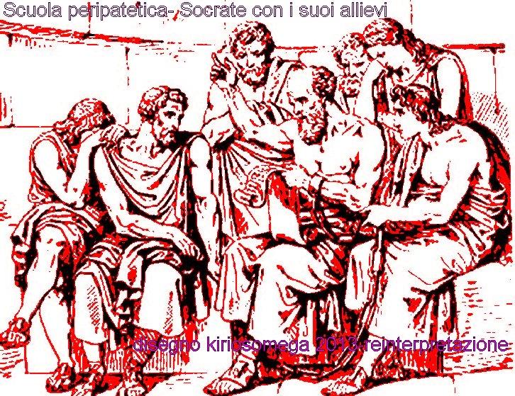 Socrate e i suoi discepoli