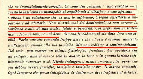 Montanelli su Civiltà Fascista scriveva il suo catechismo
