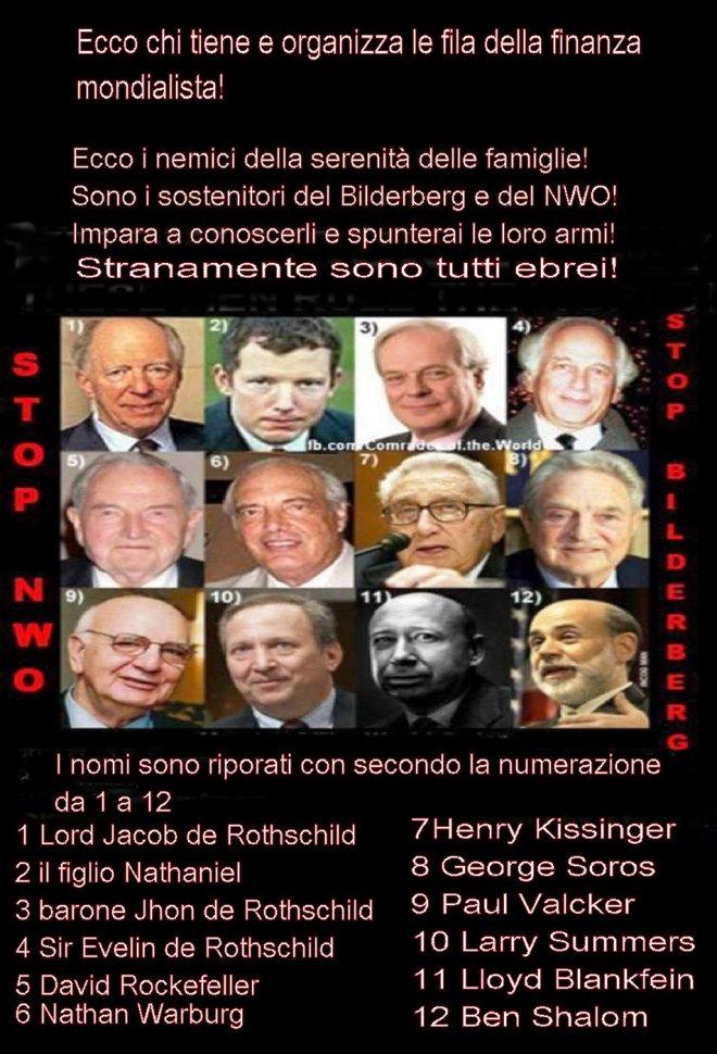 Finanza mondialista- I nomi dei personaggi più influenti!