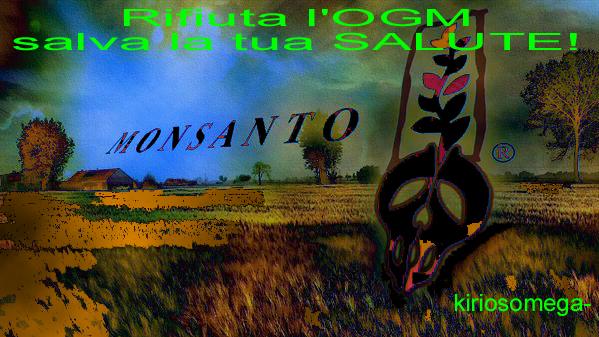 salvati da Monsanto, Pioneer DuPont..costringono a OGM a gogò Se sai cosa sono non compri prodotto ibridati!