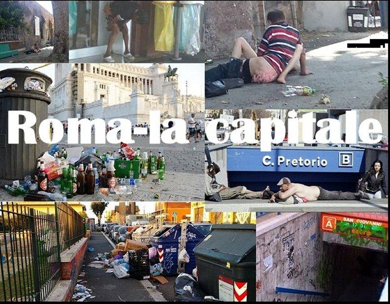 Roma, purtroppo, la grande schifezza