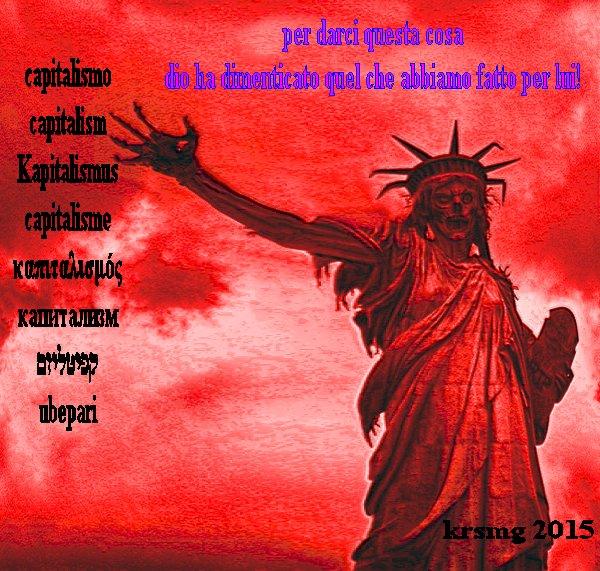 demotanatos  La chiamano democrazia ma è la morte dei popoli