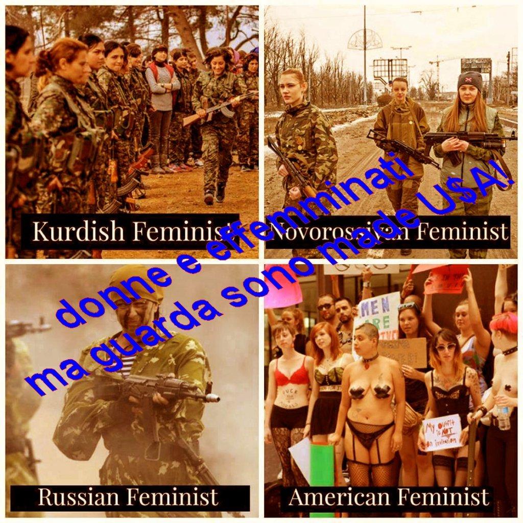 donne e effeminati