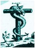 serpente crocefisso
