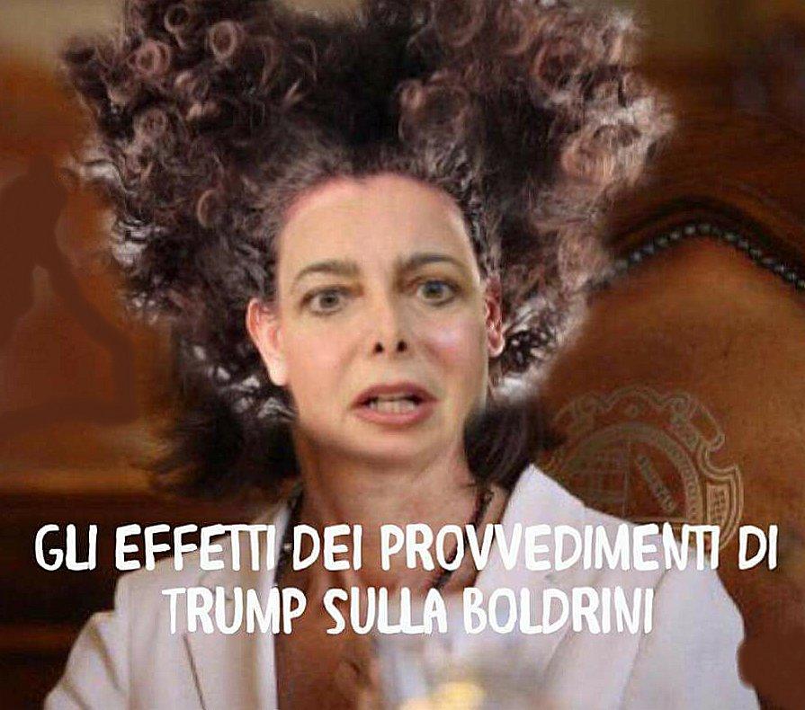 BOLDRINI E LA SCOSSA TRUMP!