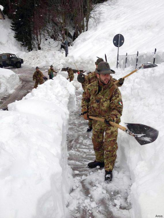 Maltempo: Esercito in campo 2014 in Veneto, spacciata per 2017 Abruzzo