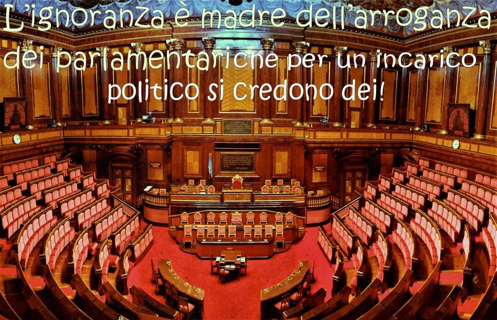 parlamento-dove i parlamentari si credono dei!